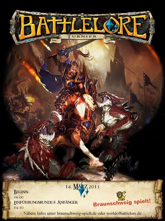 Battlelore-Turnier bei Braunschweig spielt